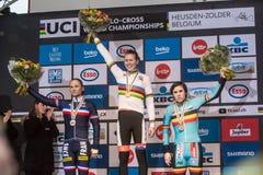 UCI-Weltmeisterschaft Cyclocross - Heusden-Zolder, Belgien Stockfotos