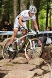 UCI-Wereldbeker Dwarsland 2013, Mont Ste-Anne, B Royalty-vrije Stock Afbeelding