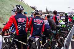 UCI World Cup Cyclocross - Hoogerheide, Netherlands Royalty Free Stock Images