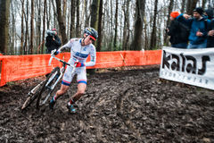 UCI World Cup Cyclocross - Hoogerheide, Netherlands Royalty Free Stock Photo
