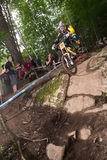 UCI World Cup Downhill 2013, Mont Ste-Anne, Beaupr Stock Photo
