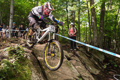 UCI World Cup Downhill 2013, Mont Ste-Anne, Beaupr Stock Image