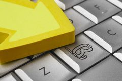 Ucieczka wakacje Podwodny pikowanie maskuje ikonę na komputerze zdjęcie royalty free