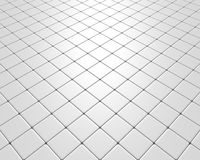 Ucieka biała podłoga Zdjęcie Royalty Free