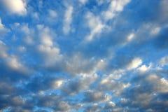 uciekać chmur Zdjęcie Royalty Free