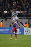 UCL: Branislav Ivanovic Chelsea Obraz Royalty Free