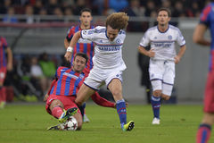 UCL: David Luiz of Chelsea London Stock Photography