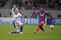 UCL: Frank Lampard och Leandro Tatu Royaltyfria Bilder