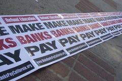 UCLA besetzen Protest Stockfotografie