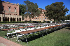 UCLA campus, California, USA Stock Photography