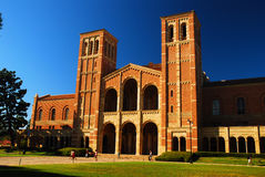 UCLA campus. Royce hall stands tall on the UCLA campus Royalty Free Stock Images