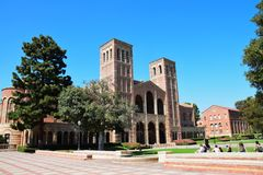 UCLA Campus Royalty Free Stock Images