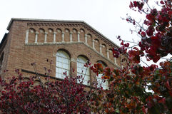 Ucla-Gebäude Lizenzfreies Stockfoto