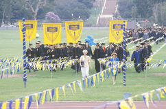 UCLA Graduate Royalty Free Stock Photos