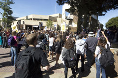 UCLA Occupy Protest Stock Image