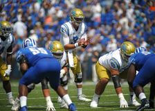 UCLA Quarterback Josh Rosen Royalty Free Stock Photos