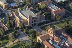 UCLA Royce Hall Campus Aerial Stock Photos