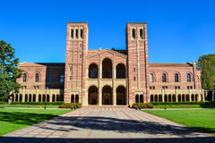 UCLA Royce Hall College Campus. Royce Hall at the University of California, Los Angeles UCLA. The UCLA campus is located in Los Angeles, California Royalty Free Stock Photography