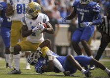 UCLA Running Back Darren Andrews Royalty Free Stock Photos