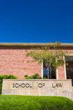 UCLA School of Law on the campus of UCLA. Stock Photography