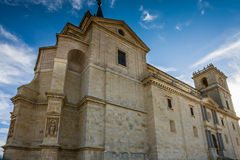 Ucles Cuenca landskap, Castilla La Mancha, Spanien Royaltyfria Bilder