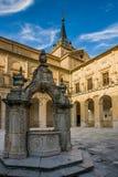 Ucles Cuenca landskap, Castilla La Mancha, Spanien Arkivfoton