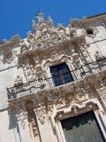 Ucles Kloster in der Cuenca-Provinz, Spanien Lizenzfreies Stockfoto
