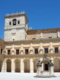 Ucles monastery in Cuenca province , Spain Stock Images