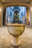 Ucles, provincia de Cuenca, La Mancha, España de Castilla Fotos de archivo libres de regalías