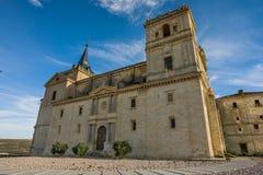 Ucles, provincia de Cuenca, La Mancha, España de Castilla Imagen de archivo libre de regalías