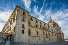 Ucles, provincia di Cuenca, La Mancha, Spagna della Castiglia Fotografia Stock Libera da Diritti