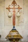 Ucles, província de Cuenca, La Mancha de Castilla, Espanha Imagens de Stock Royalty Free