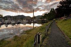 Ucluet-Jachthafen Stockfotos