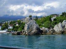 Ucrânia, Crimeia, 2010, Gurzuf, Artek, montanhas crimeanas, Yalta, imagem de stock