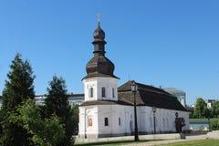 ucrânia Igreja do refeitório de St John o evangelista do monastério Dourado-abobadado Cidade de Kiev fotos de stock