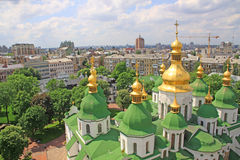 ucrânia kiev ucrânia Catedral de Sophias de Saint fotografia de stock royalty free