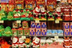 Ucrânia, Lviv - dezembro, 15, 2016: Confeitos da loja da empresa Fotografia de Stock Royalty Free