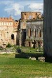 Ucrânia, Medzhybizh, castelo velho Fotografia de Stock