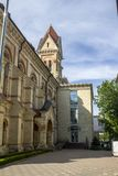 Ucrânia Odessa German Church Edif?cio bonito imagem de stock royalty free