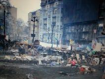 Ucraina krig Royaltyfria Bilder
