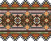 Ucrainian国民装饰品 免版税库存照片