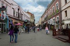 Ucrania, arquitectura hist?rica antigua de la regi?n de Khmelnytsky 5 de mayo de 2015 de Ucrania occidental imagen de archivo