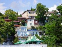 Ucrania, Crimea, 2010, Gurzuf, Artek, montañas crimeas, Yalta, el Mar Negro, res fotos de archivo