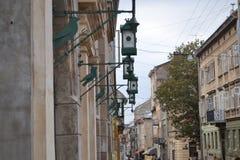 Ucrania la ciudad de Lviv Vista de la ciudad fotografía de archivo