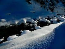 Ucraniano Carpathians do inverno Imagem de Stock