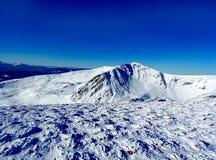 Ucraniano Carpathians do inverno Fotografia de Stock