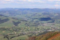 Ucranino Carpathians Immagine Stock Libera da Diritti