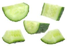 Ucumber ¡ Ð на белом собрании Стоковое Изображение RF
