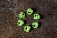 Ucumbers Стоковые Изображения RF