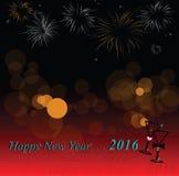 uczcić nowy rok Obrazy Royalty Free